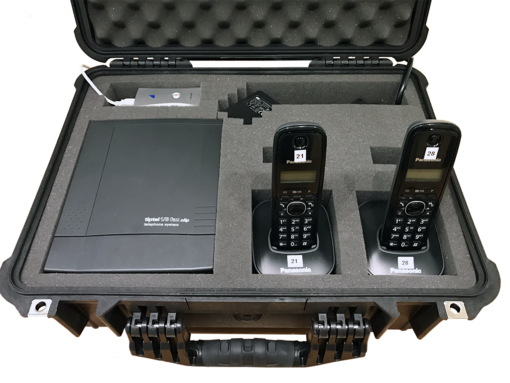 Telephone training set